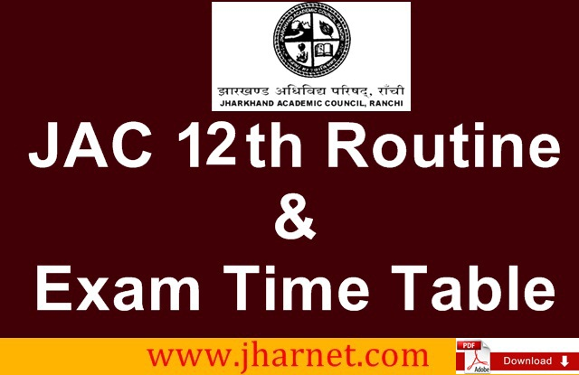 JAC 12th Routine 2019