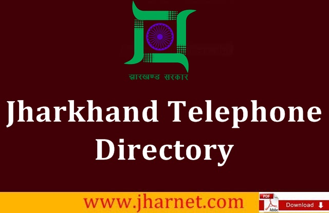 Jharkhand Telephone Directory